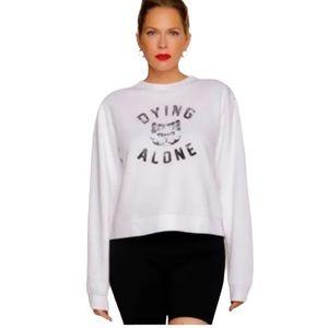 Sub Urban Riot Erin & Sara XS Graphic Sweater NEW